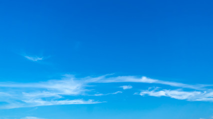 Clouds In Blue Sky, copy space for background usage