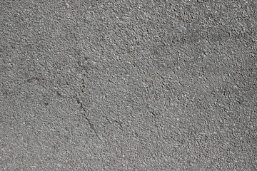 Asphalt pavement surface texture detail close up