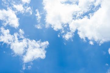 Sky clouds landscape.