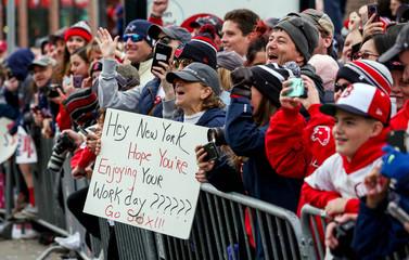 MLB: Boston Red Sox-Championship Parade