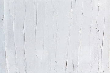 White painted texture with brush and palette knife strokes for interesting and modern backgrounds. Suitable for web designs and wallpapers