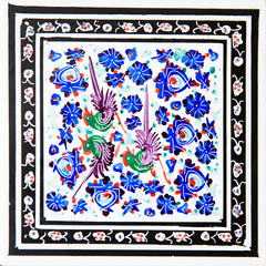 Foto op Aluminium Imagination Iranian Decorative Ceramic Tiles