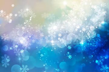 Snowy glittery background