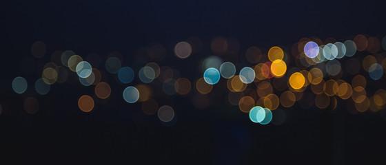 Unscharfe Lichtpunkte