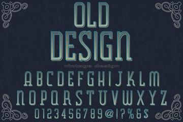 font handcrafted typeface vector vintage named vintage cigar font handcrafted typeface vector vintage