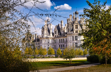 Chateau de Chambord from the garden