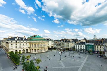 Opéra de la ville de Rennes , place de l'hotel de ville, Bretagne