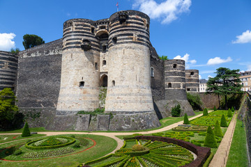 Château du Roi René, Schloss in Angers an der Loire, Frankreich