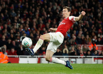 Carabao Cup Fourth Round - Arsenal v Blackpool