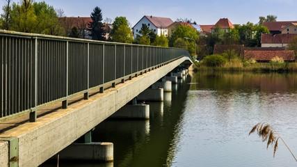 Beautiful view near Niederpoering-Isar-Bavaria-Germany