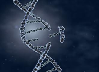 Genetic engineering and gene manipulation concept