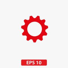 Gear icon. Vector