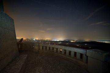 View from Santuari de Sant Salvador, Mallorca/ Spain at Sunrise