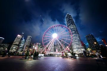 Fotomurales - Observation Wheel, Hong Kong