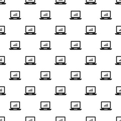Laptop pattern seamless repeat background for any web design