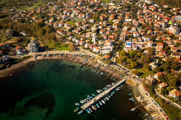 Ahtopol from bird's eye view