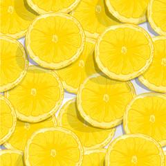 fruit pattern background graphic lemon