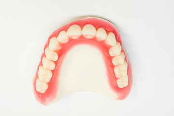 artificial teeth arrangement of full mouth complete denture