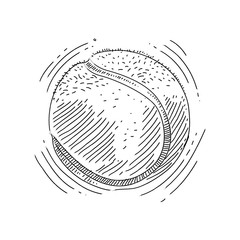 Tennis ball Drawing