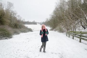 Snow And Winter Scenary