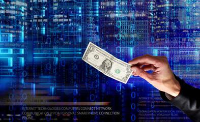 Wall Mural - e-banking internet technologies