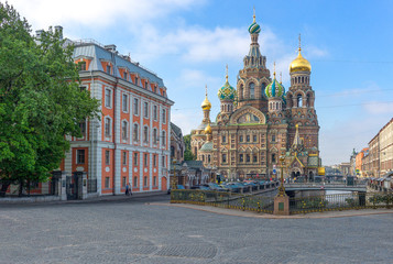 St. Petersburg, architectures, art and history