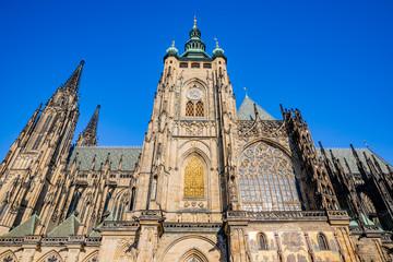 La Cathédrale Saint-Guy dans le Château Royal de Prague