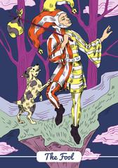 Tarot - The Fool Card
