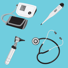 Doctor tools medical equipment