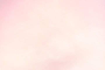 blur cloud background with a pastel colored