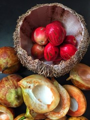 Fresh Nutmeg Seed