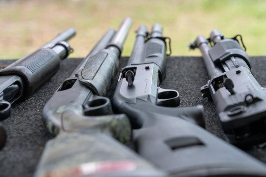 Shotgun automatic and single shot