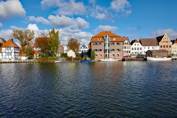 Glückstadt an der Elbe Alter Salzspeicher am Binnenhafen