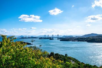 鷲羽山からの風景 The view from Mt.Washuzan