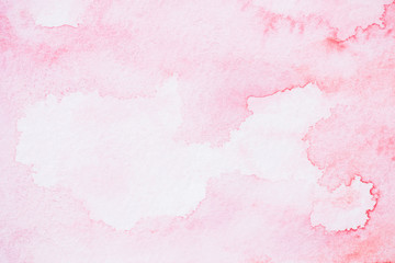 abstract light pink watercolor background