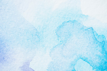abstract light watercolor blue texture
