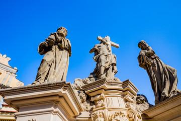 Statues du Pont Charles de Prague