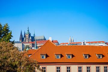 Vue sur Prague depuis le Pont Charles