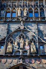 La Tour du Pont de la vieille ville du Pont Charles à Prague