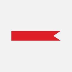 Ribbon vector icon