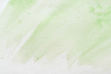 abstract green creative watercolor texture
