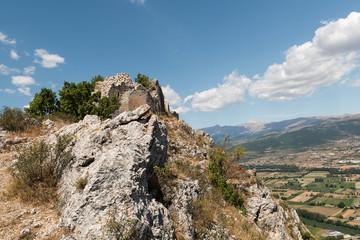 Ruderi del castello San Panfilo D'ocre