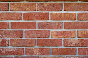 texture of clinker bricks, background for your text, brick wall close up