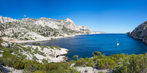 The Calanque de Morgiou