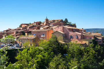 Wall Mural - Village of Roussillon in the Provence