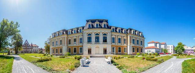 Meiningen, Großes Palais, Altstadt, Panorama  Fototapete