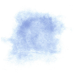 Vector Watercolor blue blot. Air watercolor background for your design. Vector illustration.