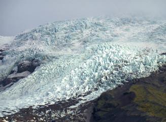Printed kitchen splashbacks Glaciers The Falljokull Glacier Tongue in Vatnajökull National Park, the Southern Region of Iceland