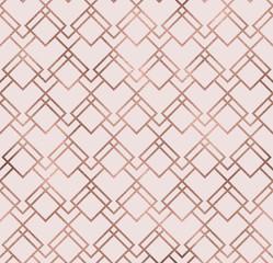 Motif géométrique sans couture d& 39 éclat élégant avec la texture de feuille de bronze. Papier peint pailleté à la mode. Fond chic premium moderne.