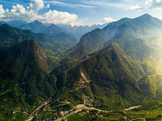 Mountains in Sa Pa, Vietnam